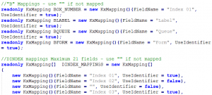 Code Snippet for IBM Content Manager Export