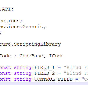 Filed Comparison Code Snippet